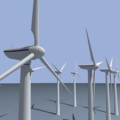 wind turbine fbx