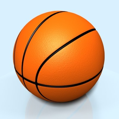 3d basketball basket ball model