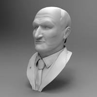 3ds max head sculpture