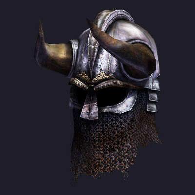 viking helmet 3d model