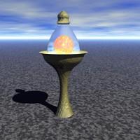Fae Lamp #1