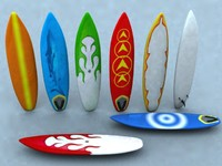 3dsmax surfboard board