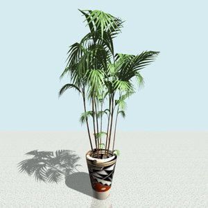 plant potted 3ds