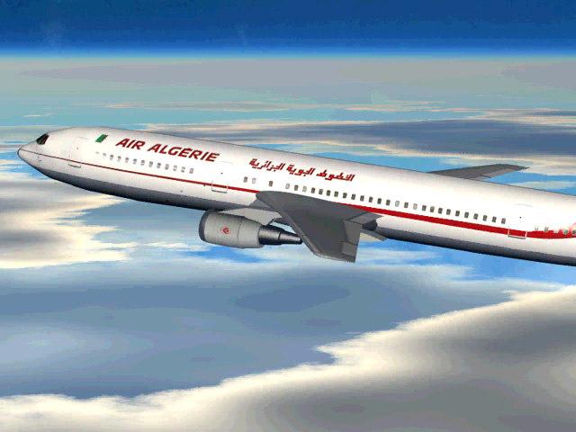 algeries air plane animate max