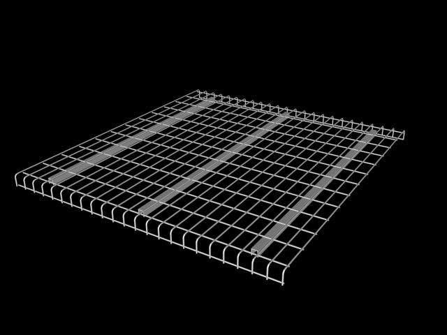wire mesh deck 3d model