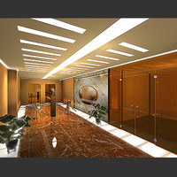 render office interiors 3d model