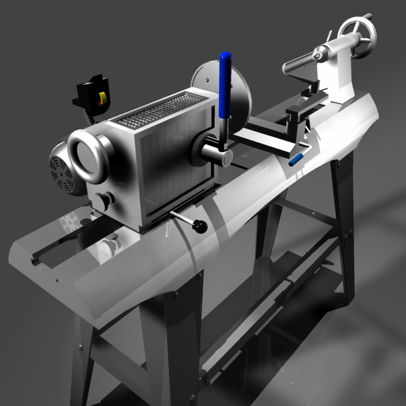 3ds max lathe woodworking