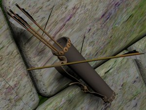 arrow quiver longbow 3ds