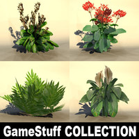 3d model bushes pc ps2