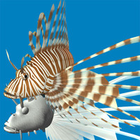 red lionfish 3ds