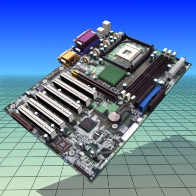 mainboard motherboard 3ds free