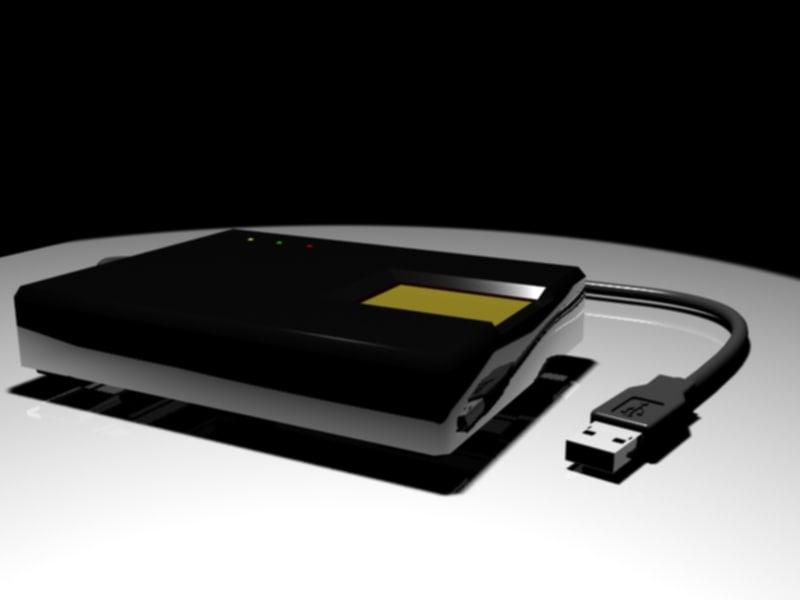 3d fingerprint device model