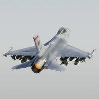 F16C Falcon Model USAF