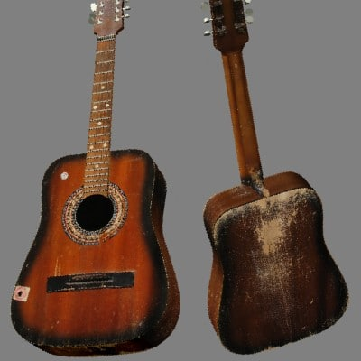 old accoustic guitar lwo free