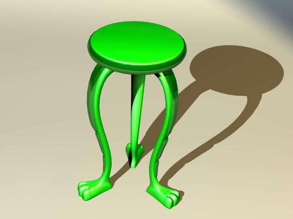 3d model unique table