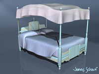 canopy bed lwo