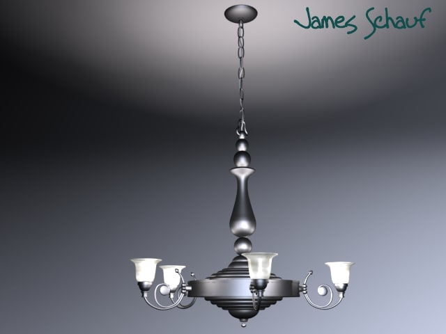 light fixture 3d lwo