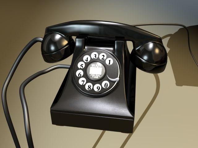 1940 phone 3d lwo