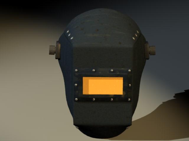 3d welding helmet