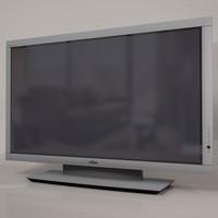 3d fujitsu plasmavision television plasma model