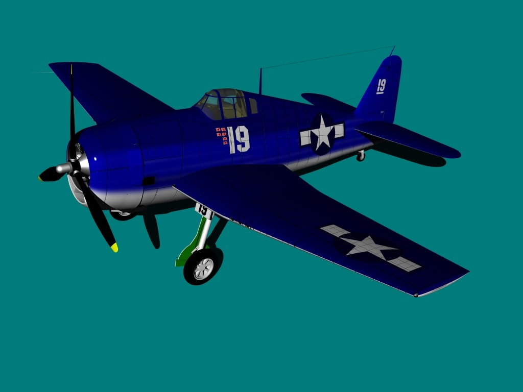 f6f hellcat aircraft lwo