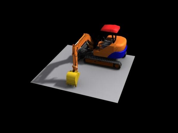 industrial excavator max