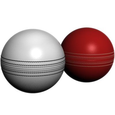 cricket hard balls 3d model
