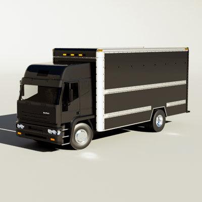 max iveco eurotech semi truck