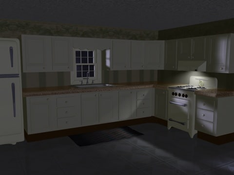 3d model kitchen power pack