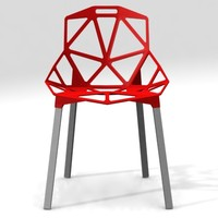 - konstantin grcic chair 3d model