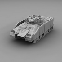 transport warrior ifv 3d model