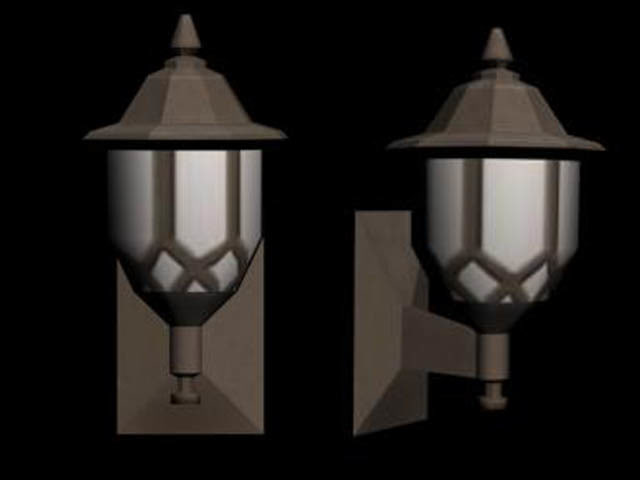 3d house light model