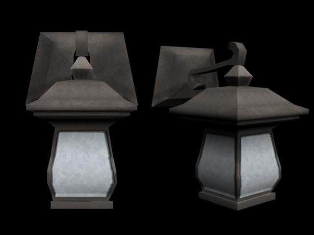 3d house light