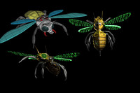 mechanical bee 3d 3ds