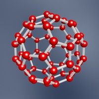 maya buckyball carbon molecule