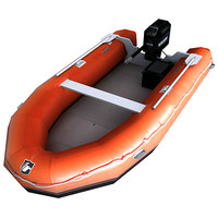 inflatable boat games 3d max