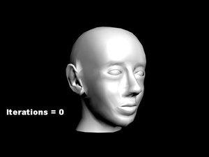 max head man face