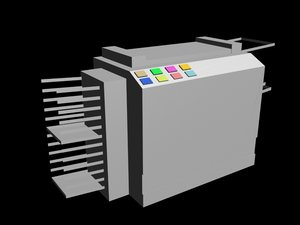 3ds max copy machine