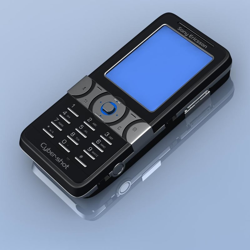 3d sonyericsson k550i model