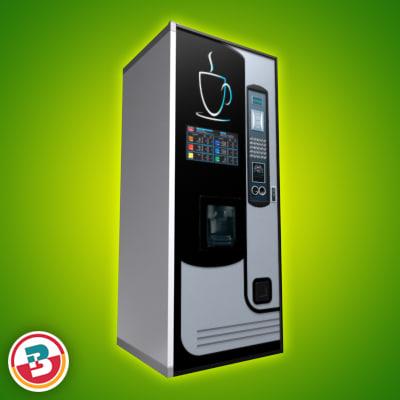 vending machine retail 3d model