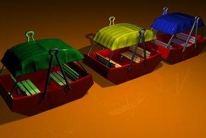 feris wheel cart 3d model