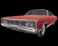 3d 1968 dodge monaco 500