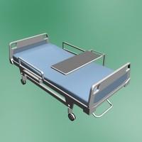 bed hospital 3d model