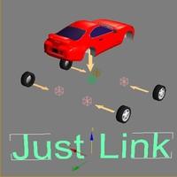 animation car 3d model
