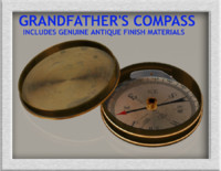 3d model grandfathers compass