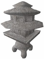 japanese zen ornament 3d model
