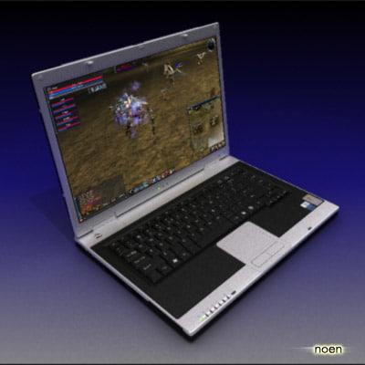 loptop 3d model