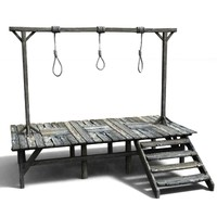 3d gallows
