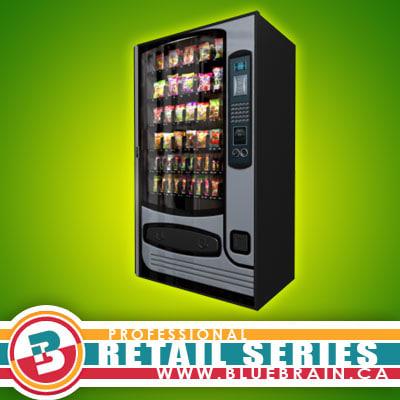 retail vending machine 1 3d model
