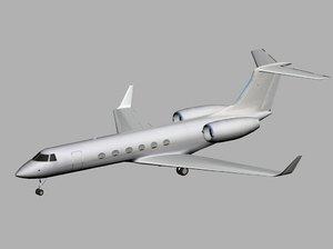 vip jet 3d model